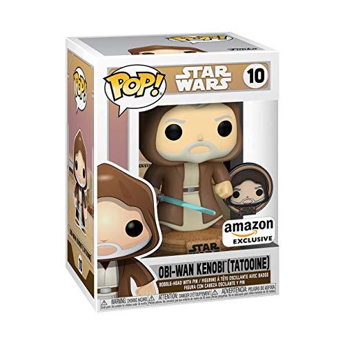 Funko POP - Star Wars - Obi Wan (Amazon Exclusive) + Pin Funko de regalo