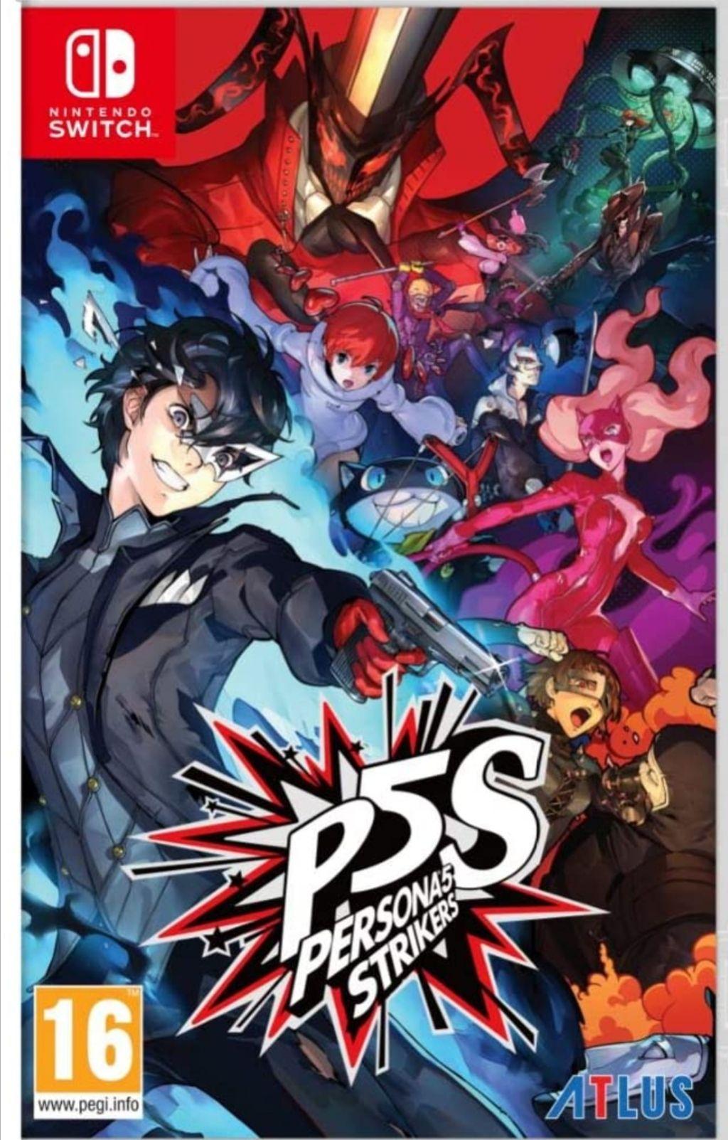 Persona 5 Strikers - Editión Limitada Nintendo Switch / PS4