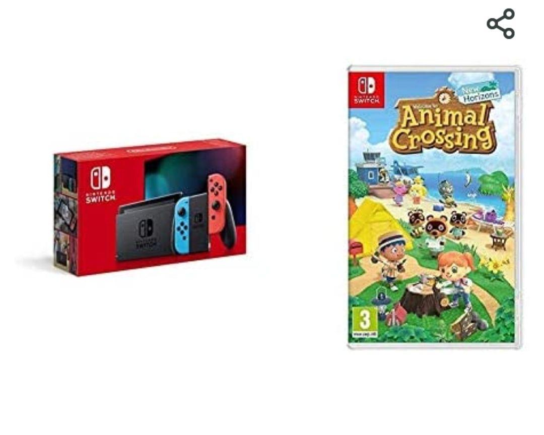 Nintendo Switch + Animal Crossing