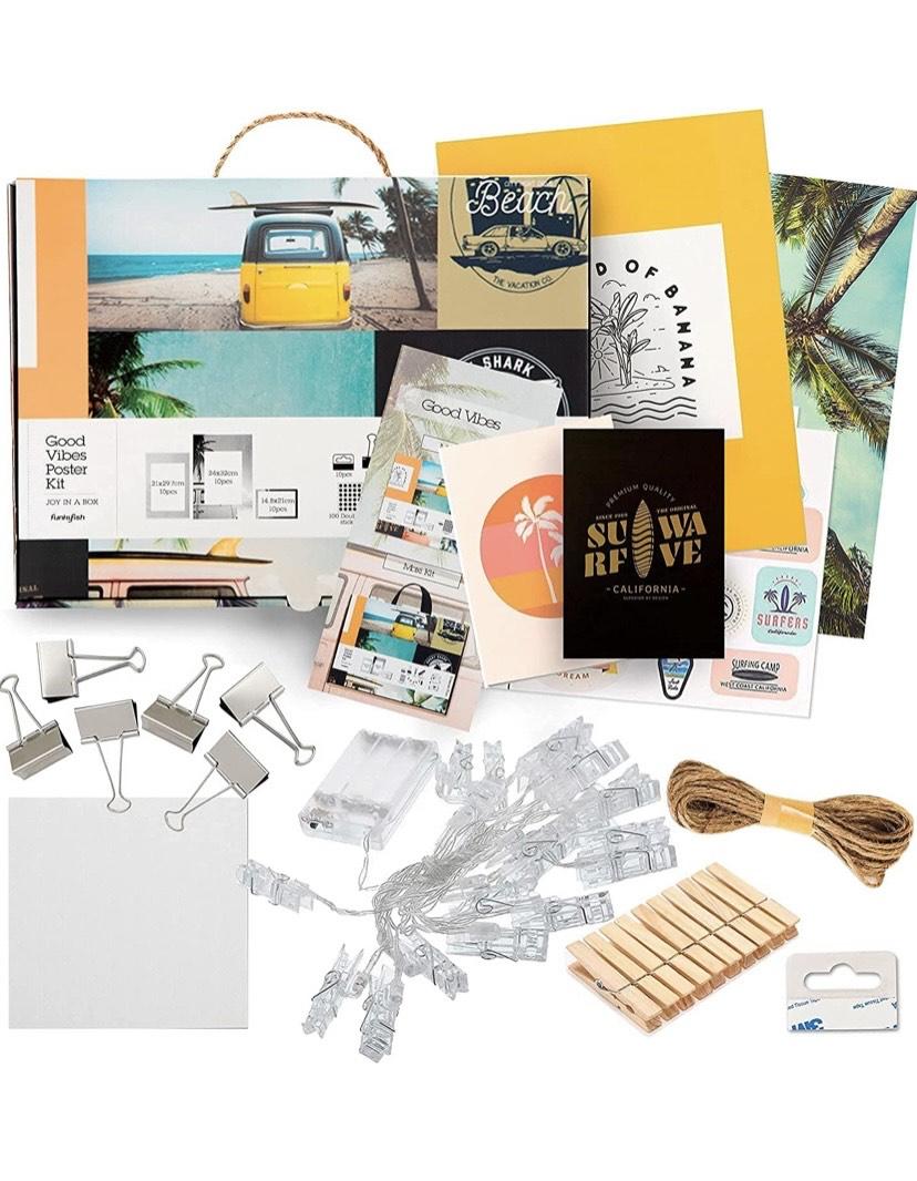 Catwalk 162 Piezas Kit de Collage de Pared de decoración, Carteles estéticos para la decoración