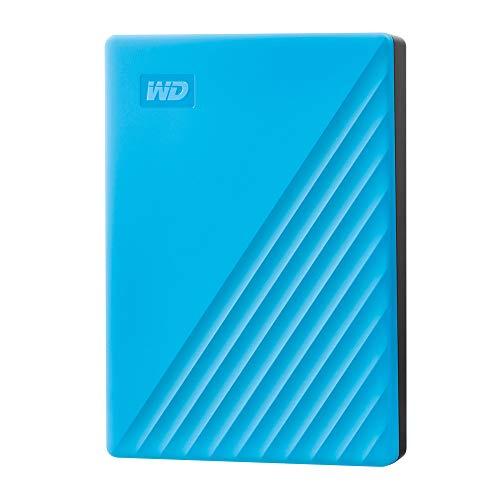 WD My Passport disco duro portátil 2TB , azul