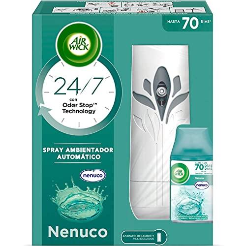 Ambientador Spray Automático, Aroma a Nenuco - 1 aparato + 1 recambio