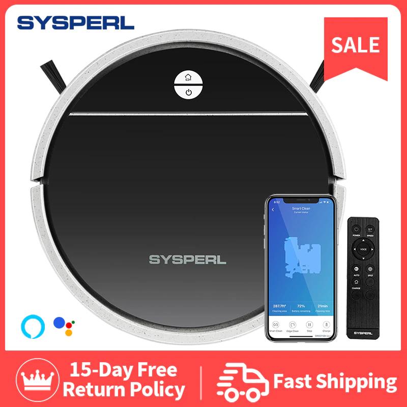 Sysperl-Robot V30 aspirador automático para alfombras y suelos