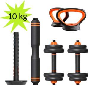 Kit de Musculación Mancuernas + Barra + Pesa Rusa Xiaomi FED 10kg