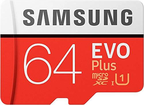Samsung Evo Plus MicroSDXC 64GB UHS-I U3 Clase 10 + Adaptador