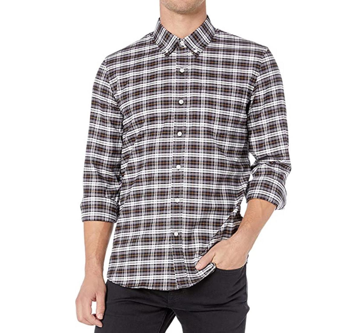 Camisa Oxford elástica hombre talla S (otro modelo azul a 7,25€)