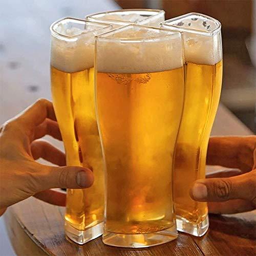 Vaso de cerveza 4 en 1, anticaída. Por 6,99€