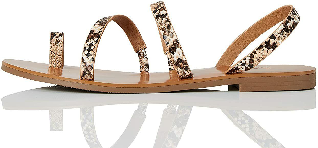 TALLA 39 - find. Ankle-strap - Sandalias de Gladiador