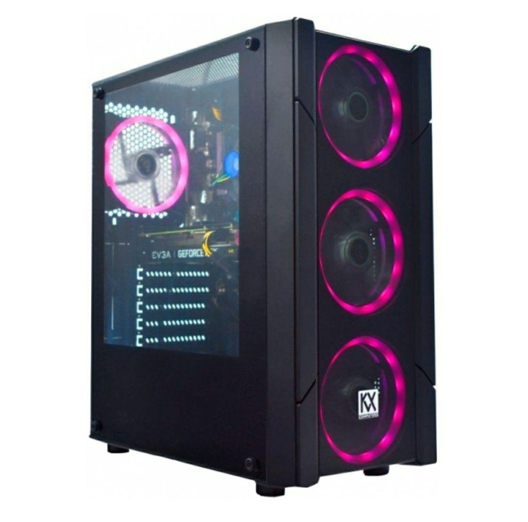 Pc Gaming Kvx Phobos 2 Intel Core I5-9400f/ 16gb/ 256gb Ssd + 1tb/ Geforce Rtx 3060/ Freedos