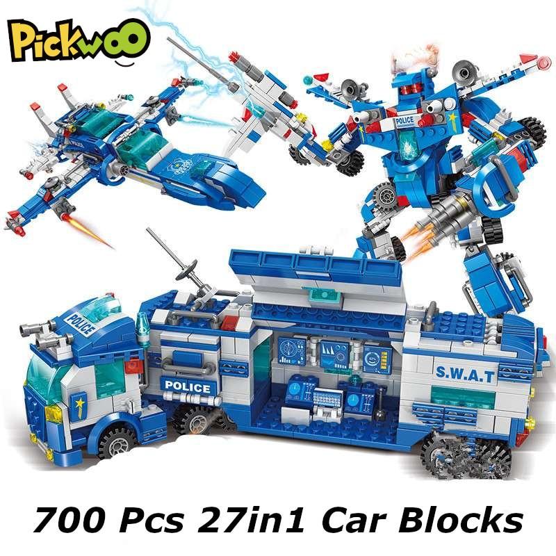 Set de piezas estación de policia 340 piezas 9€ / 700 piezas 14€