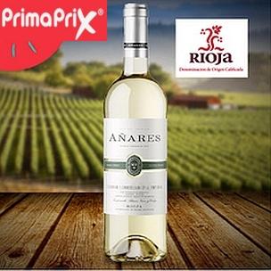 Añares vino blanco D.O. Rioja 75cl.en PrimaPriX