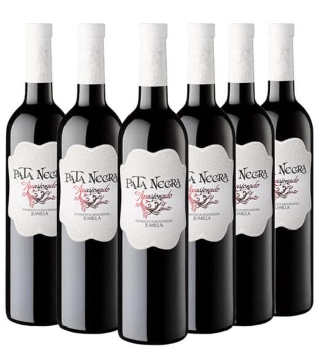 Pack 6 Vino Pata Negra