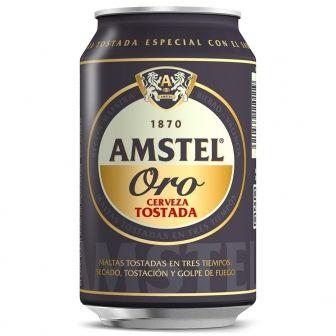 Cerveza Amstel Oro sólo por 0,44€ unidad (precio descuento + 3x2)