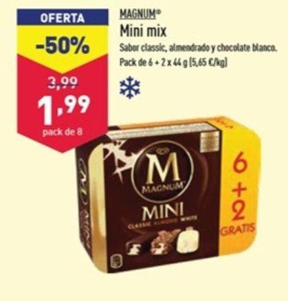 8 Magnum mini - Aldi