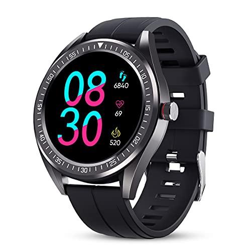 Reloj Inteligente, Smartwatch IP68 Impermeable Rastreador Actividad por 24,99€