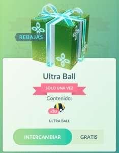 GRATIS :: 30 Ultra Balls #PokémonGO