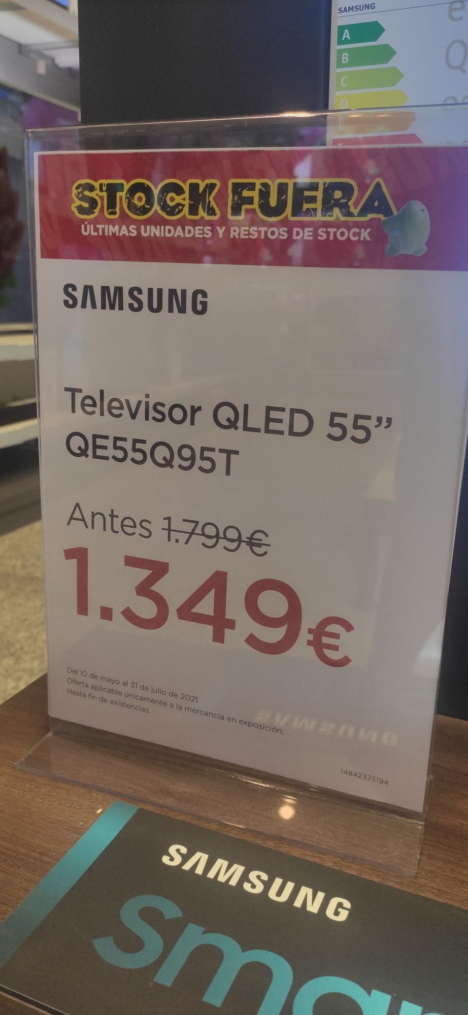 """Samsung 55"""" Q 95 T"""