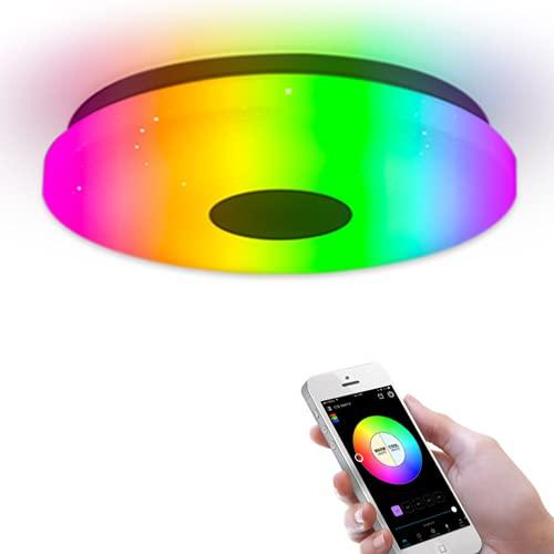 Plafón RGB 36W Alexa & Google