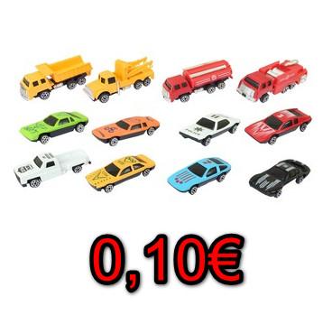 Alcampo Utebo (Zaragoza): Mini coches coleccionables por 0,10€