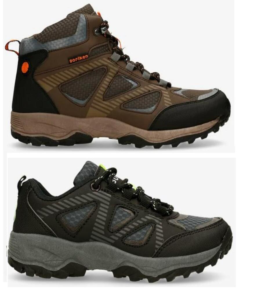 10 MODELOS - Zapatillas y Botas Boriken para Todos Desde 9.99€