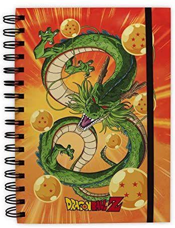 Cuaderno Dragon ball de tapa dura