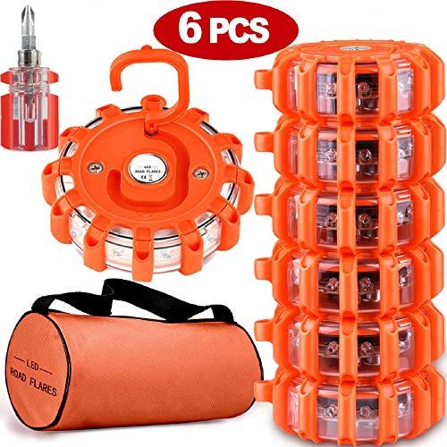 Pack 6 Luces de Emergencia,más destornillador,más bolsa de transporte