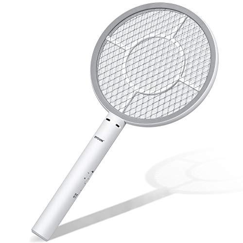 Raqueta matamosquitos con batería