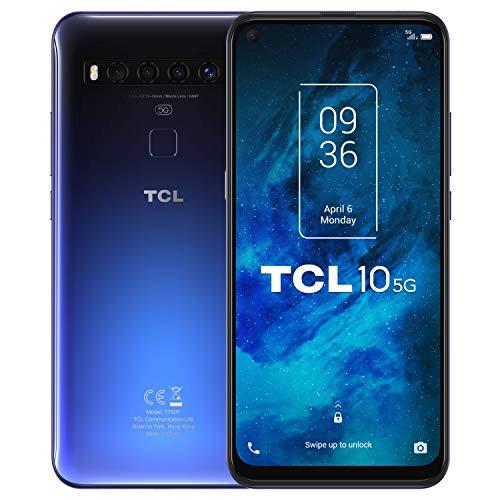 "TCL 10 5G - Smartphone de 6.53"" FHD+ con NXTVISION Qualcomm 765G 5G, 6GB/128GB"