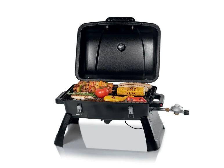 Grillmesiter barbacoa de gas de sobremesa 3,2 kW