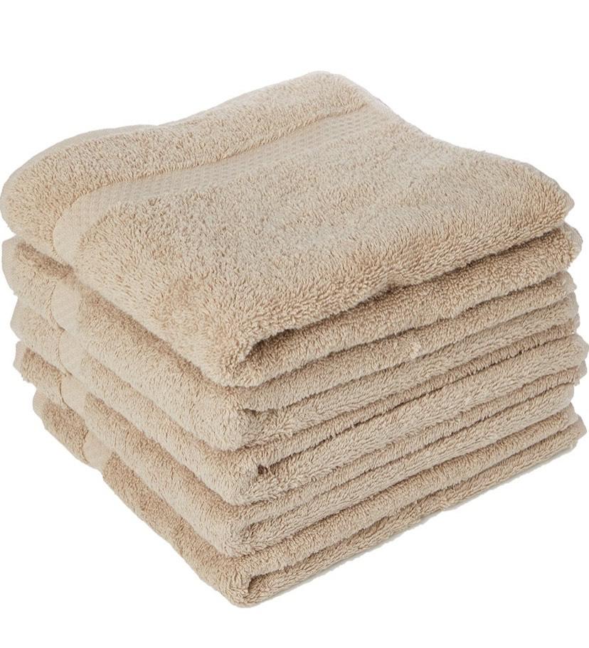 Juego de 5 Toallas tamaño:50x80 cm 100% algodón