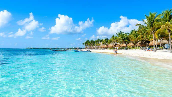 Vuelos Ida y Vuelta a Cancún desde 340€ para Enero de 2022