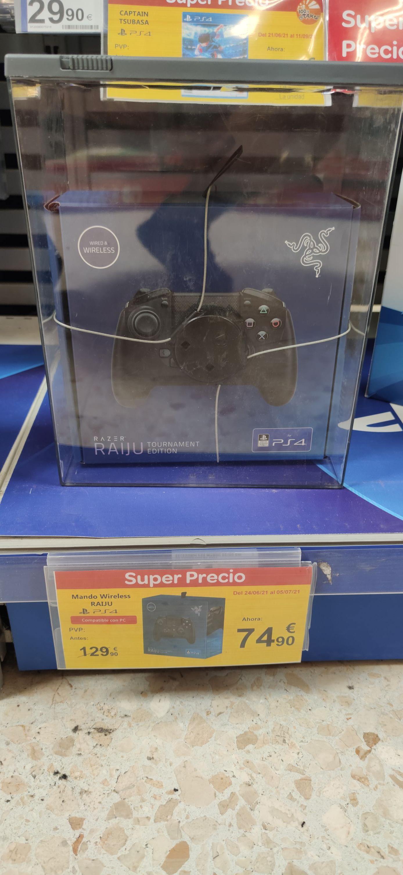 Razer Raiju Tournament Edition Ps4 y Pc