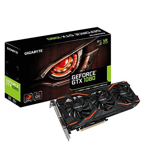 Nvidia gtx1080 gigabyte triple ventilador
