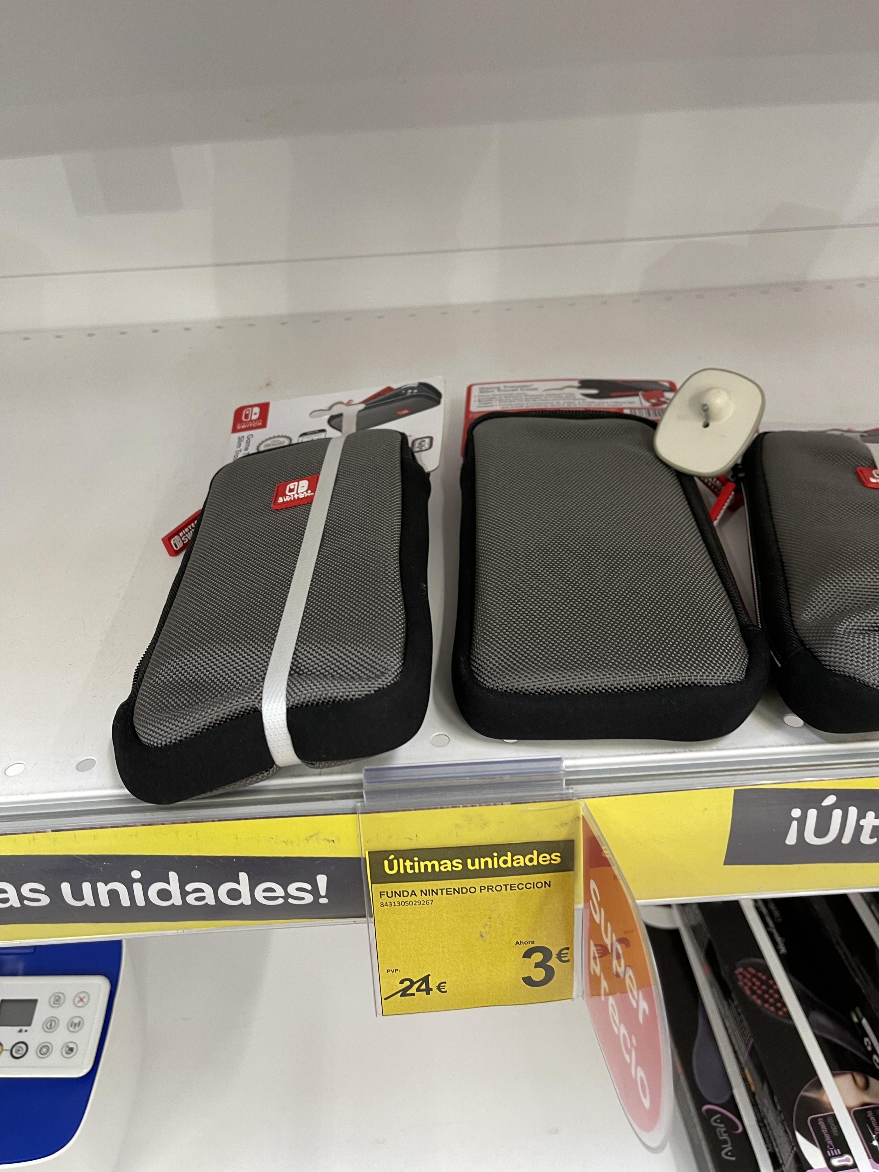 Funda nintendo switch lite (Carrefour Lorca, Murcia)