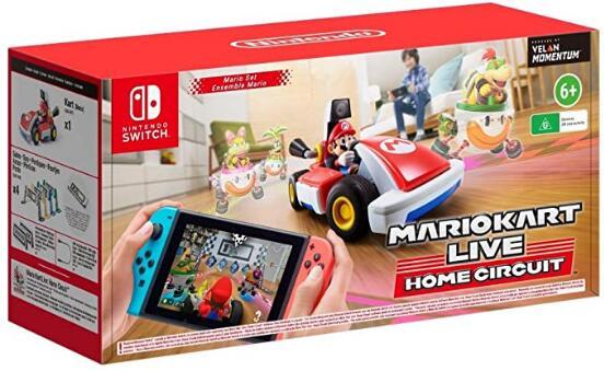 Mario Kart Live: Home Circuit Edición Mario por 76,39 € (envío y conversión incluida) (REVISAR CÓDIGO DESCRIPCIÓN)