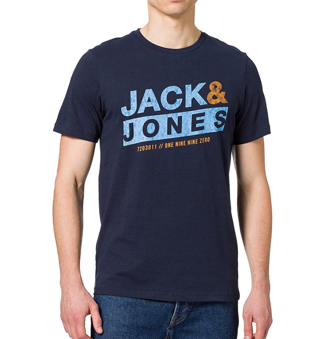 Camiseta Jack & Jones hombres tallas S y L.