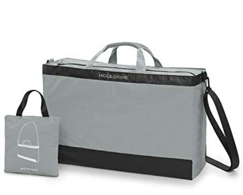 Moleskine - Bolsa de viaje plegable y plegable en práctica bolsa