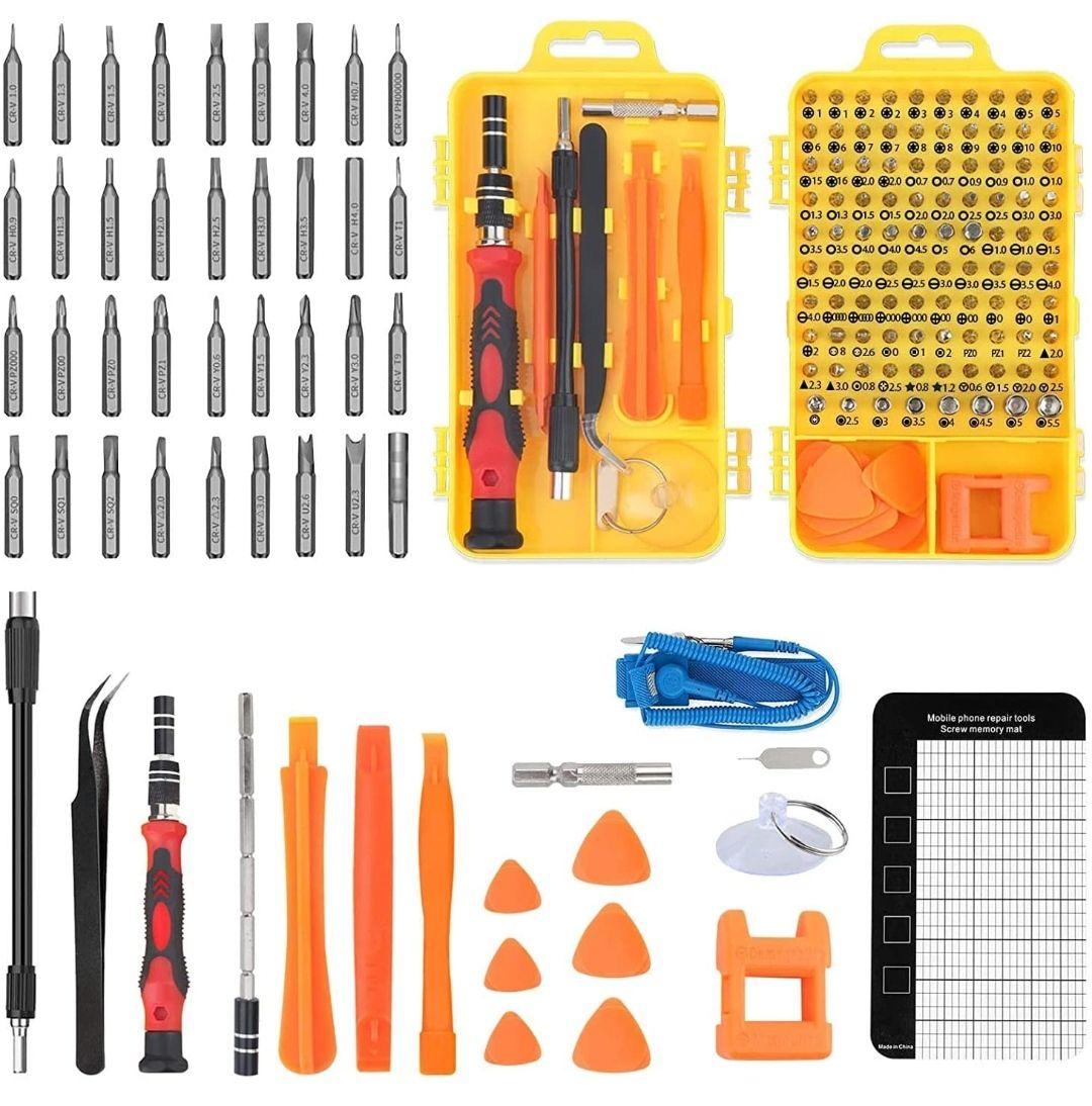Kit de 117 en 1 Destornilladores de precisión