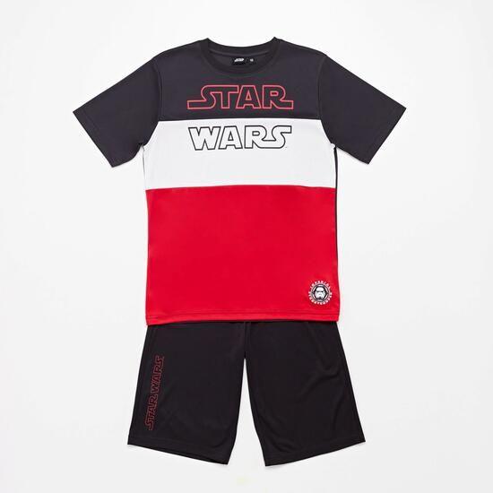 Conjunto ropa niño Star Wars o capitán América, más código 5%, más envío gratis