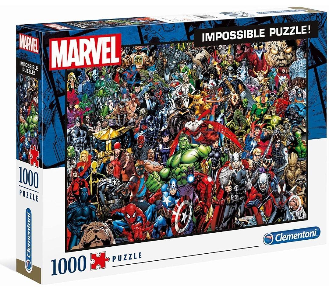 Puzzle 1000 Piezas Marvel
