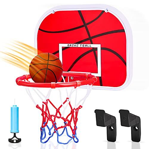 Canasta Baloncesto Infantil,con balón y bomba.