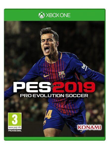 Pro evolution soccer 2019 Xbox one en la store de Turquía.