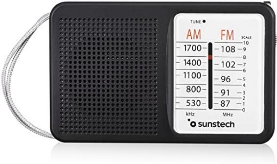 Radio Portátil Sunstech RPS411
