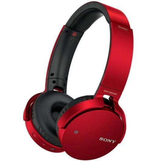 Auriculares Bluetooth Sony MDR-XB650BT (Rojo)