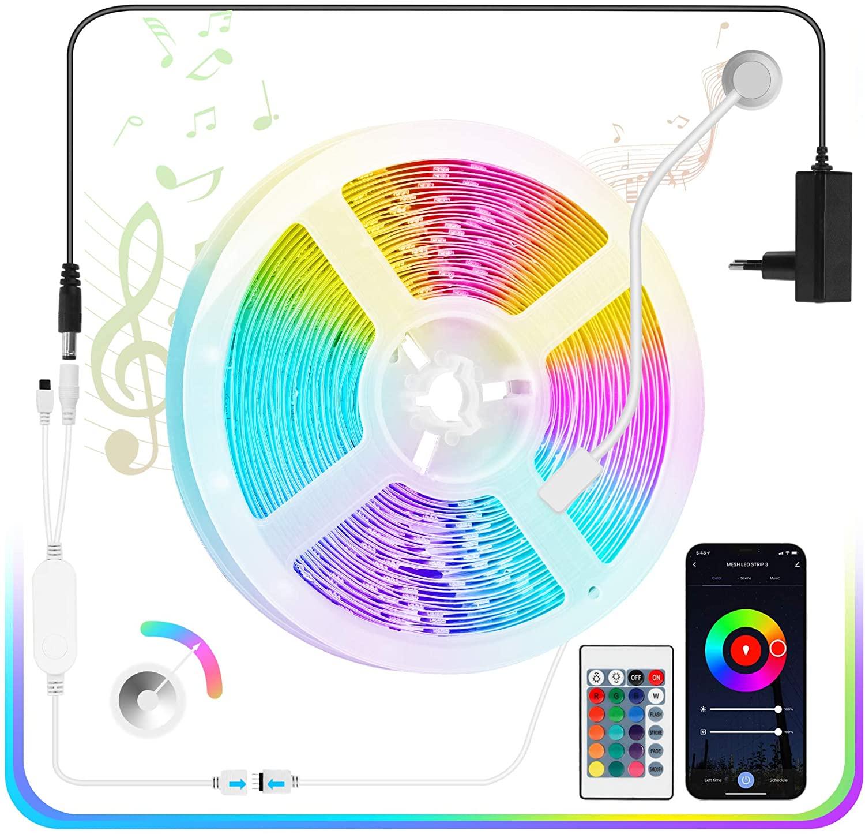 Tira LED 5050 Bluetooth solo 3.9€