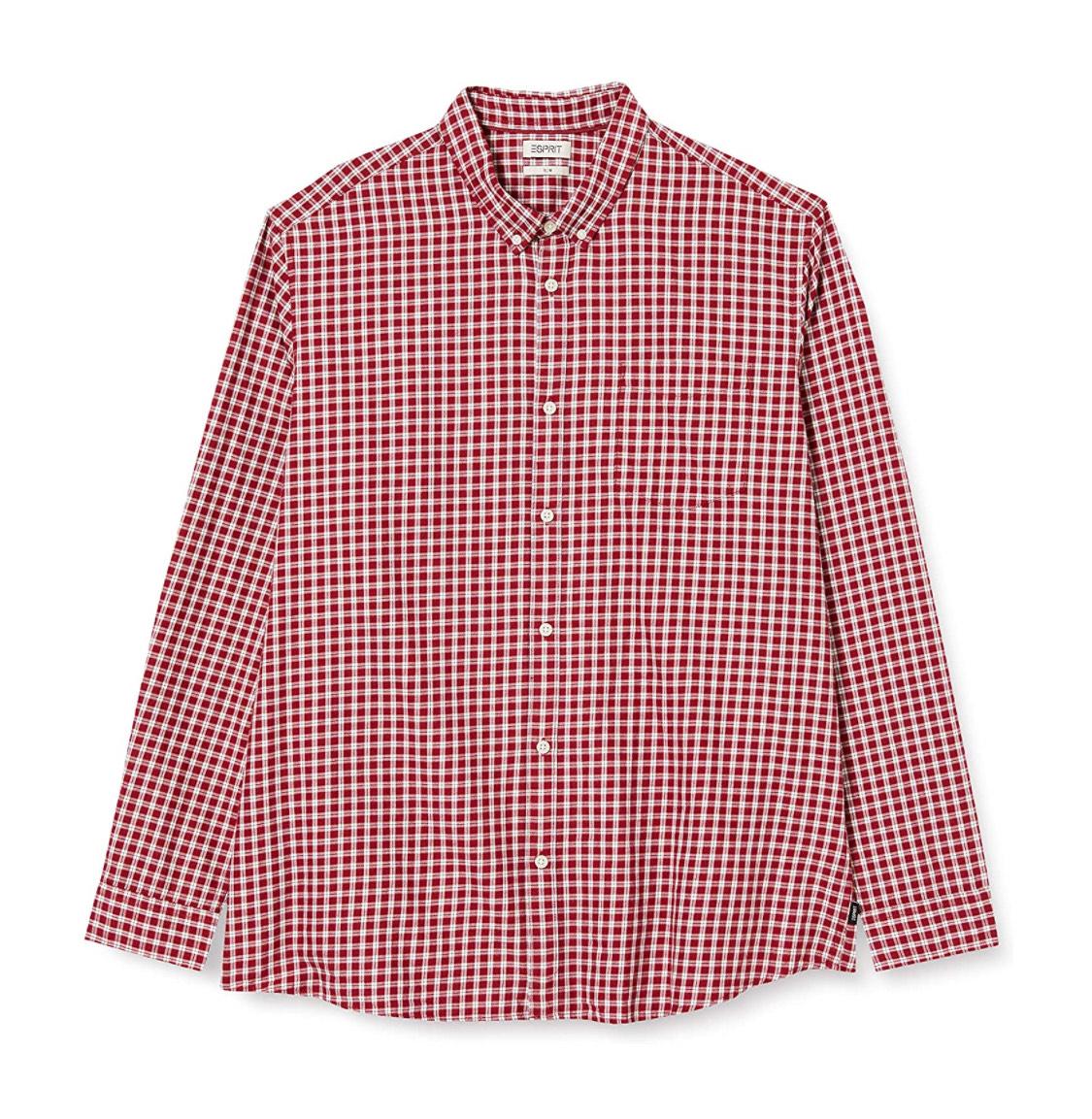Camisa manga larga Esprit hombre talla S.