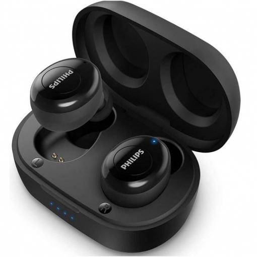 Auriculares Philips TAT2205BK con Bluetooth - Negro. Por 29,90€