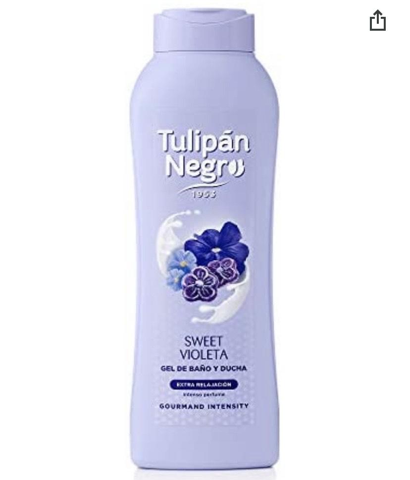 Tulipán Negro - Gel De Baño Sweet Violeta, 720 ml, 1 unidad