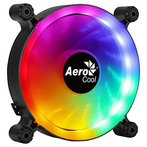 Aerocool SPECTRO12, Ventilador de PC 120mm RGB, Silencioso