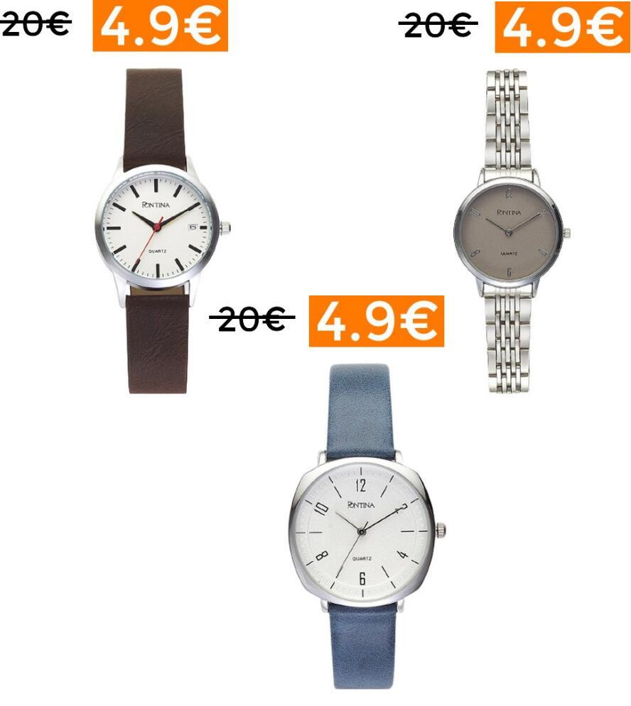 Preciazos en relojes Pontina Mujer